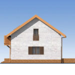 проект дома из теплоблока SDn-544 3