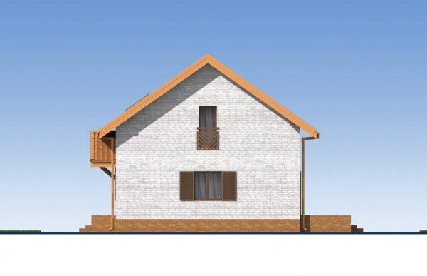 проект дома из теплоблока SDn 544 3