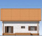 проект дома из теплоблока SDn-544 4