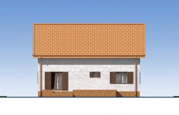 проект дома из теплоблока SDn 544 4