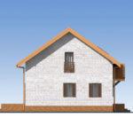 проект дома из теплоблока SDn-544 5