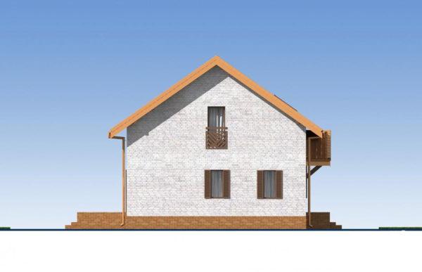 проект дома из теплоблока SDn 544 5