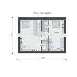 проект дома из теплоблока SDn-544 6