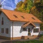 проект дома из теплоблока SDn-544 7