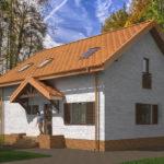 проект дома из теплоблока SDn-544 8