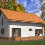 проект дома из теплоблока SDn-544 9