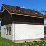 проект дома из теплоблока SDn-551 10