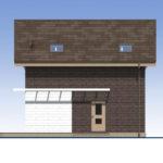проект дома из теплоблока SDn-551 2