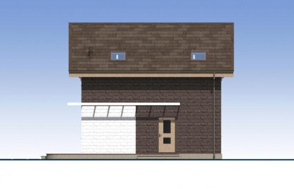 проект дома из теплоблока SDn 551 2
