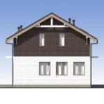 проект дома из теплоблока SDn-551 3