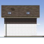 проект дома из теплоблока SDn-551 4