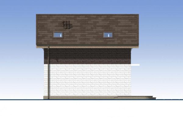 проект дома из теплоблока SDn 551 4