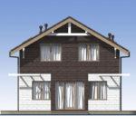 проект дома из теплоблока SDn-551 5