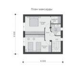 проект дома из теплоблока SDn-551 6