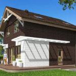 проект дома из теплоблока SDn-551 8