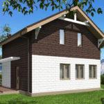 проект дома из теплоблока SDn-551 9