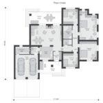 проект дома из теплоблока SDn-564 1