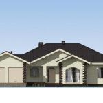 проект дома из теплоблока SDn-564 2