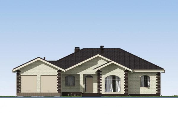проект дома из теплоблока SDn 564 2