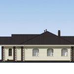 проект дома из теплоблока SDn-564 3