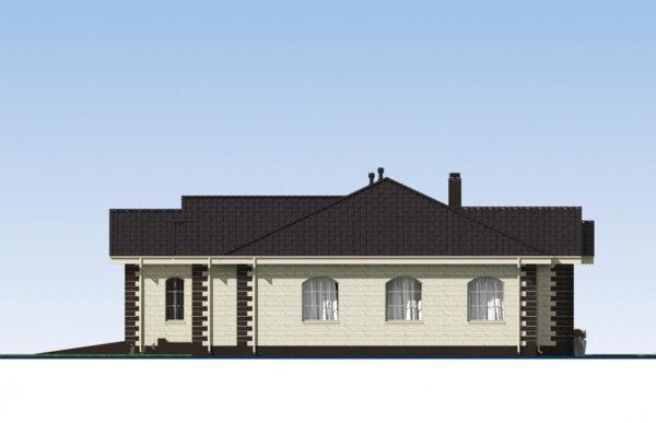 проект дома из теплоблока SDn 564 3