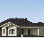 проект дома из теплоблока SDn-564 4