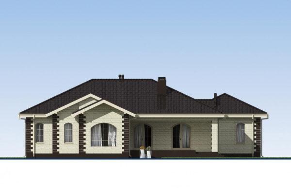 проект дома из теплоблока SDn 564 4