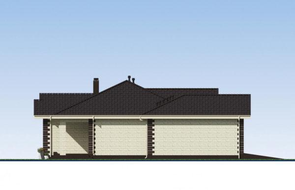 проект дома из теплоблока SDn 564 5
