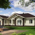 проект дома из теплоблока SDn-564 6