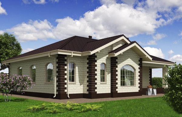 проект дома из теплоблока SDn 564 8