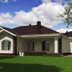 проект дома из теплоблока SDn-564 9