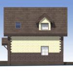 проект дома из теплоблока SDn-567 3