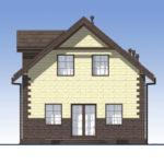 проект дома из теплоблока SDn-567 4