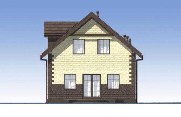 проект дома из теплоблока SDn 567 4