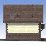проект дома из теплоблока SDn-567 5