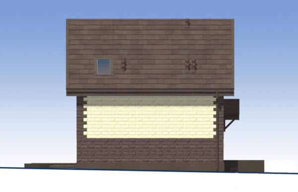 проект дома из теплоблока SDn 567 5