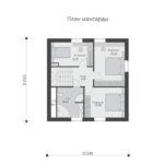 проект дома из теплоблока SDn-567 6