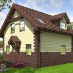 проект дома из теплоблока SDn-567 8