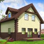 проект дома из теплоблока SDn-567 9