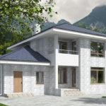 проект дома из теплоблока SDn-569 10