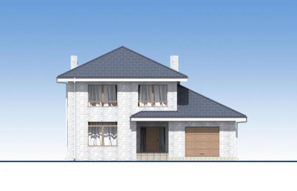 проект дома из теплоблока SDn 569 3