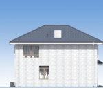 проект дома из теплоблока SDn-569 4