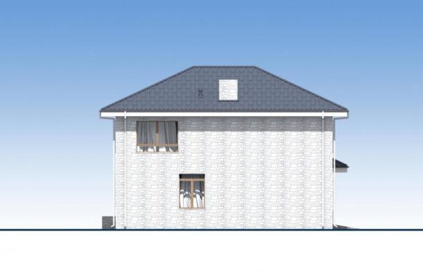 проект дома из теплоблока SDn 569 4