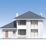 проект дома из теплоблока SDn-569 5