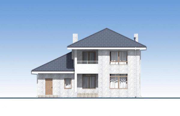проект дома из теплоблока SDn 569 5