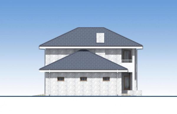 проект дома из теплоблока SDn 569 6