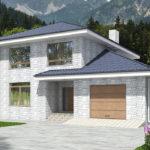 проект дома из теплоблока SDn-569 7