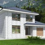 проект дома из теплоблока SDn-569 8