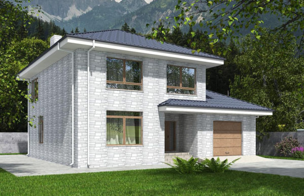 проект дома из теплоблока SDn 569 8