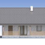 проект дома из теплоблока SDn-572 2